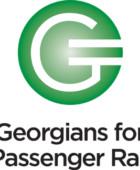 Georgians for Passenger Rail, logo, brochure