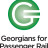 Georgians for Passenger Rail, logo, brochure