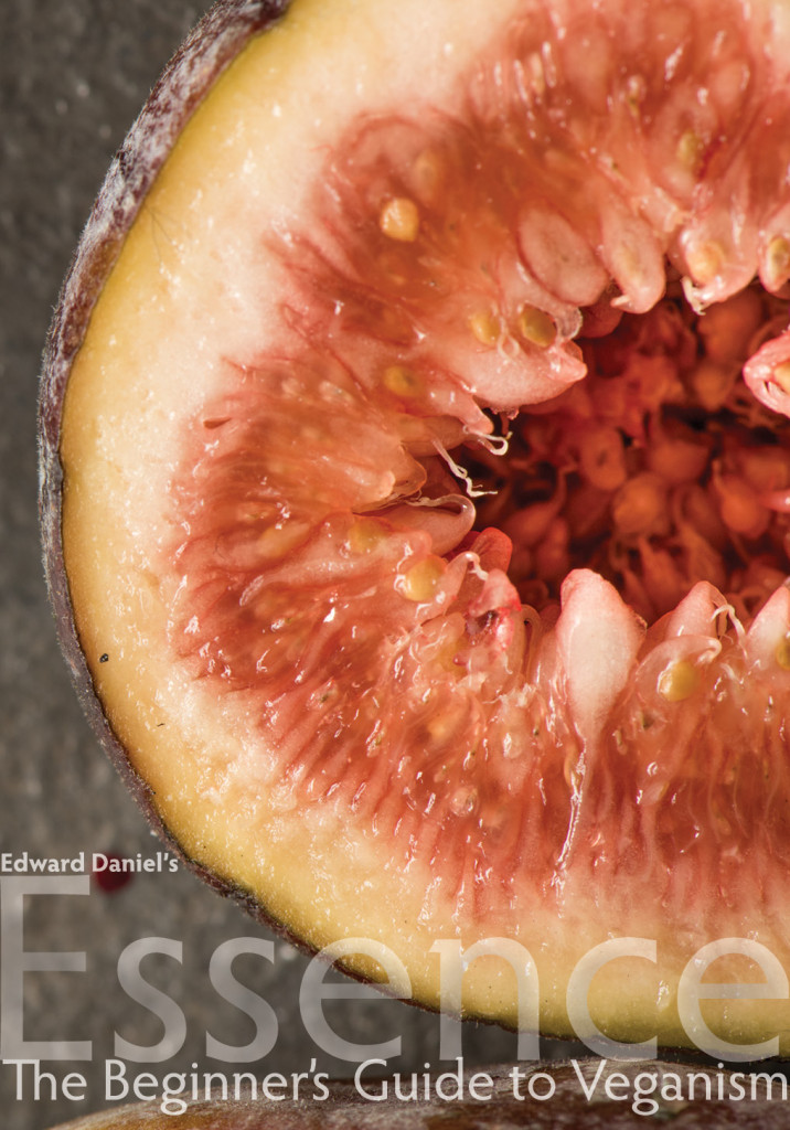 The cover, shot by the inimitable Jason Spoor, shows the cross section of a fig.