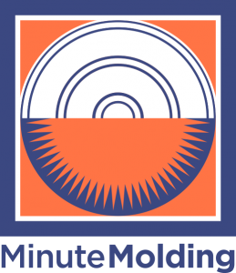 Minute Molding logo type under