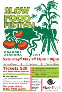 Slow Food Fest poster