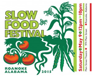 Slow Food Festival postcard