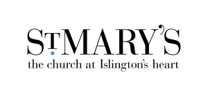 St Mary's need a clean identity for the church. The typeface was a fresh version of an antique typeface. The logo was modeled on a similar type treatment from an ancient map of Islington.